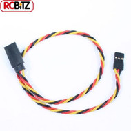 Etronix JR Receiver Twisted Extension Wire Servo ESC Lead Cable 30 cm ET0735 RC