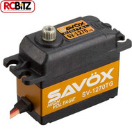 Savox SV1270TG 'High Voltage' Std Size Ultra Torque Servo 35Kg/0.11S@7.4V