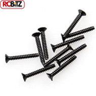 Axial M2.6 x 18mm Hex Tapping Flat Head 10 Receiver box Screw AXA0416 Wraith