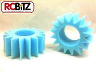 STAR CUT Foam Tire Inserts 2 for 2.2 RC Wheels eg CR-01 CR01 fits standard tyres
