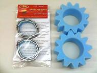 Wheel Weights & Star Cut Foam SET for 1.9 Wheels SCX10 Reduce Centre of Gravety