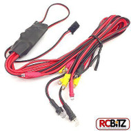 RC LED Light Unit Headlight Brake & Indicator 2 Settings FAST198 easy connection[LED set ONLY]