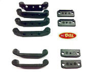 Carisma GT14 Hinge Pin Mounts NARROW CA143396 or WIDE CA14337 0 2 3 4 Toe-in set[Narrow CA14396]