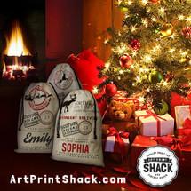 Shop Santa's Bags ShopSantasBags.com artprintshack.com