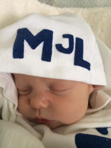 Hooded Gown Baby Boys Name Newborn