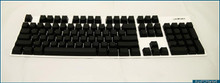 Majestouch Filco Blank keyset, 104 keys with no keylabels