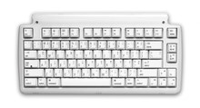 Matias Mini Tactile Pro Keyboard for Mac, White w/media keys, Clicky