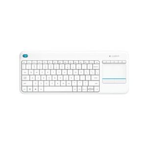 Logitech Wireless Touch Keyboard K400 Plus - White (920-007166(K400PLUS))