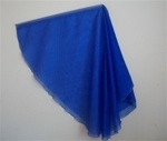BLUE TRANSLUCENT WING FLAG