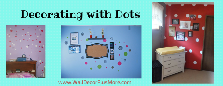 Decorating with Polka Dot Wall Decals Stickers