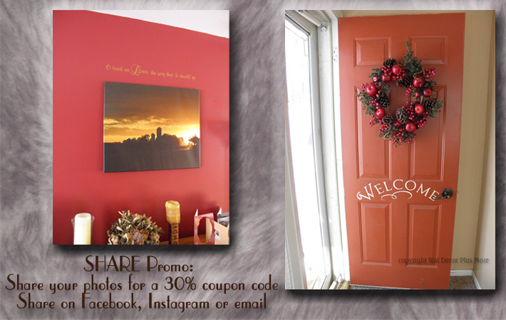 Wall Sticker Room Photos Share Promo