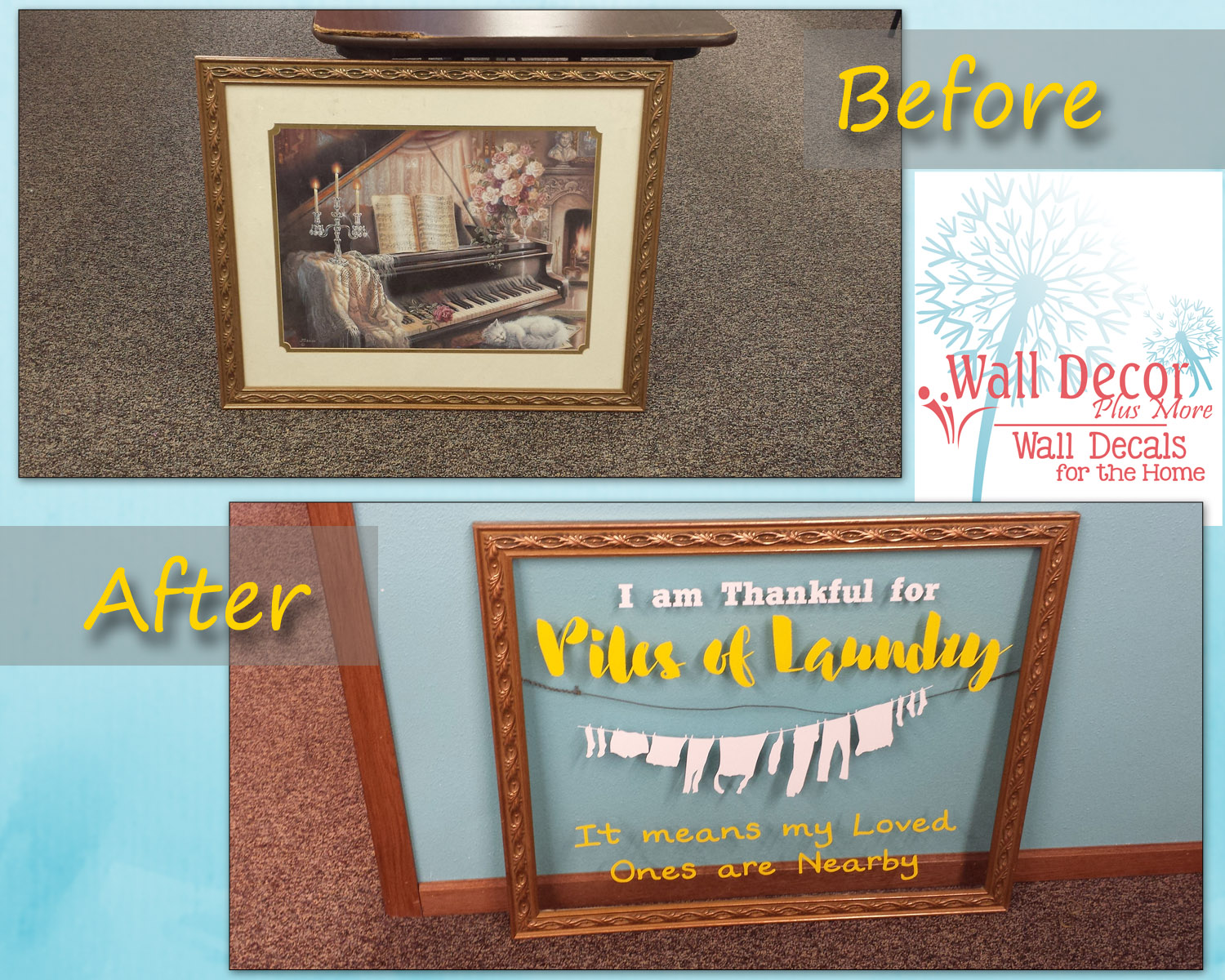 Why I Just Canu0027t Win With My Laundry Room Wall Decor!