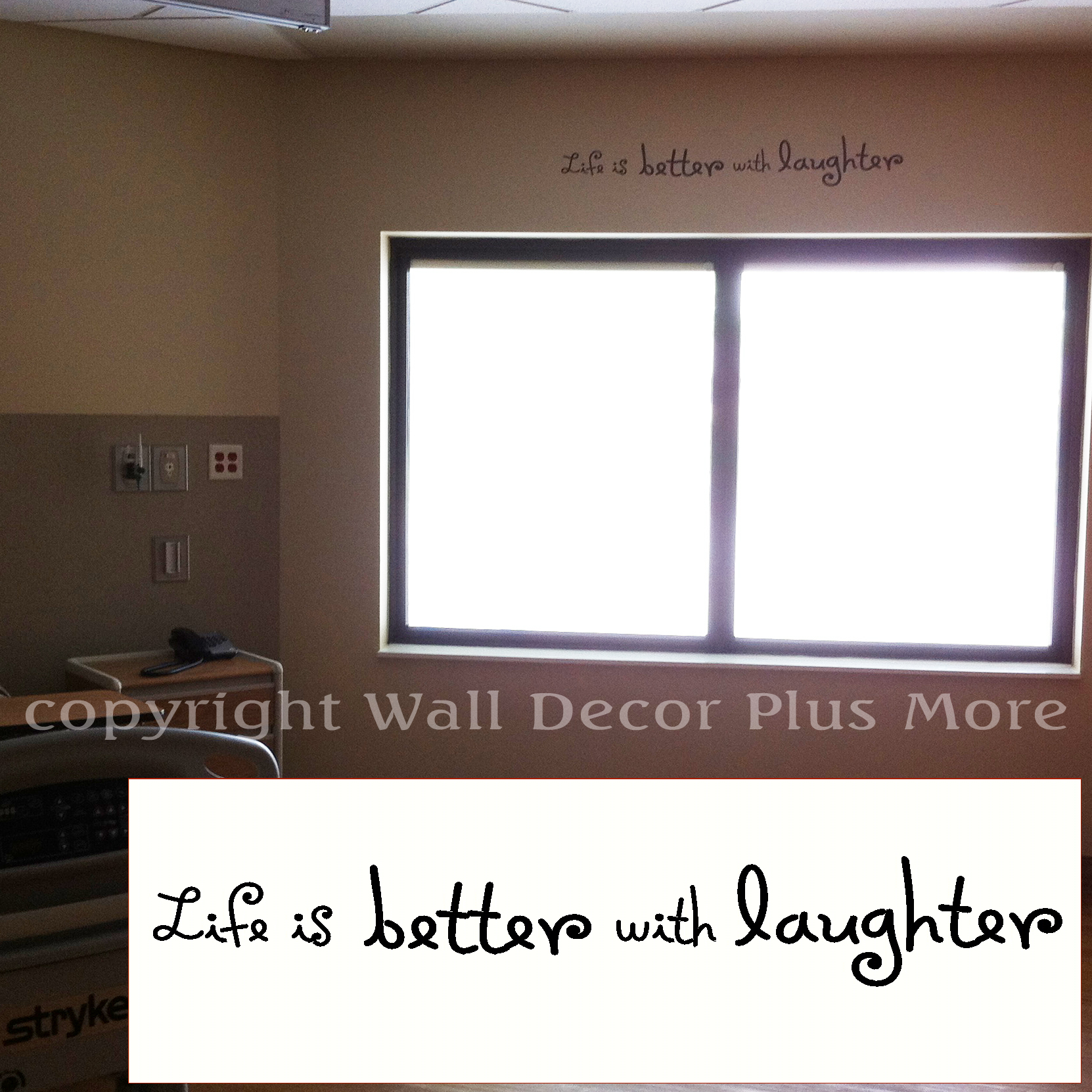 Wall Decor Plus More : Helping out the local hospital with new wall decals