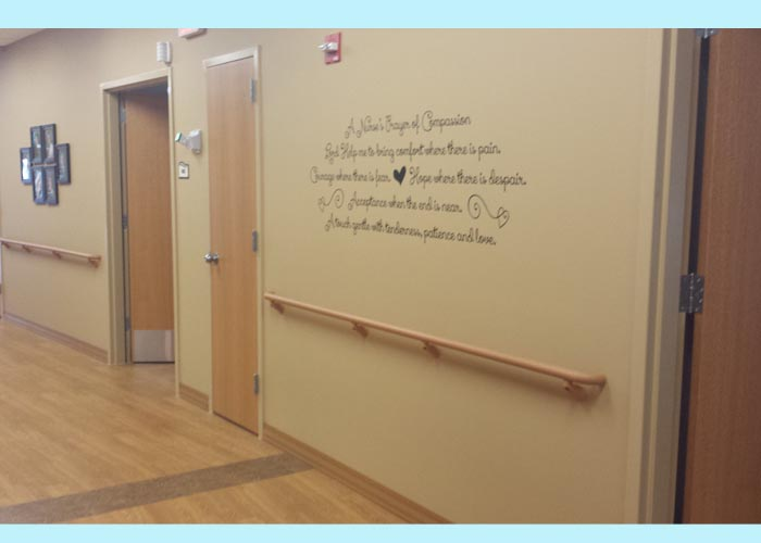 Nurses Prayer Of Compassion Custom Wall Decals Stickers