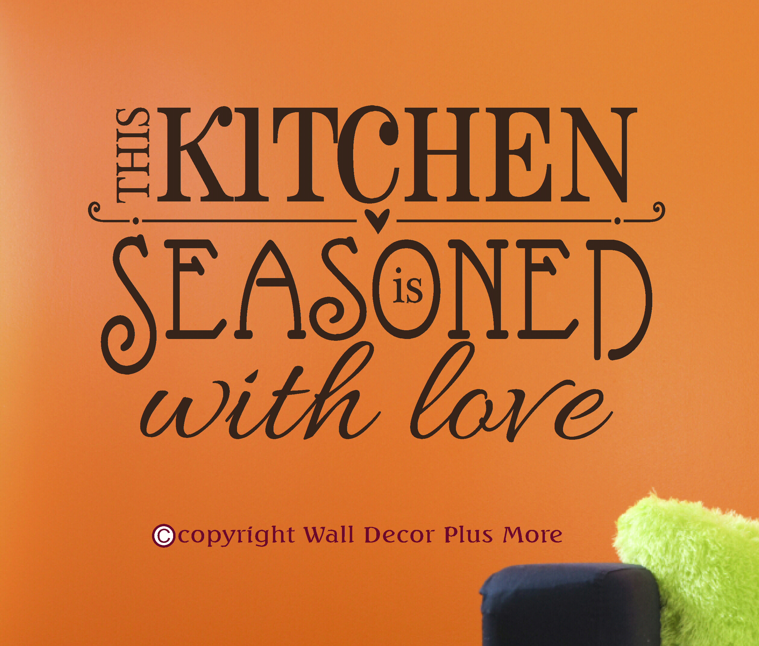 Wall Decor Plus More : Love your kitchen and it will you back wall decor