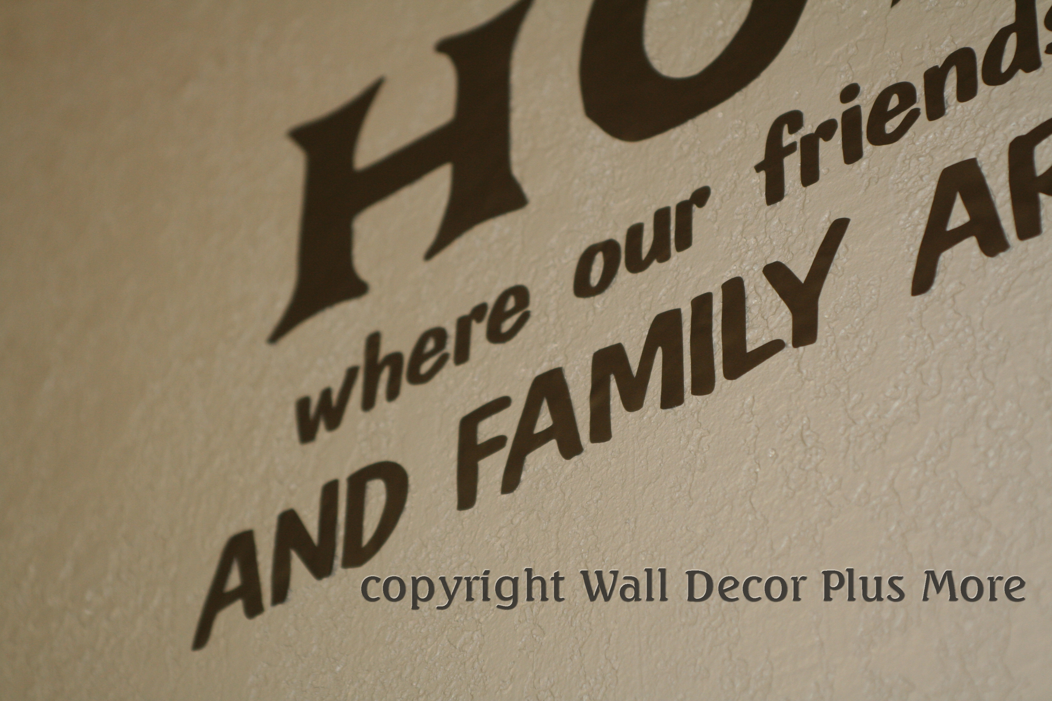 Wall Stickers On Textured Wall Choice Image Home Wall Decoration - Vinyl decals for textured walls