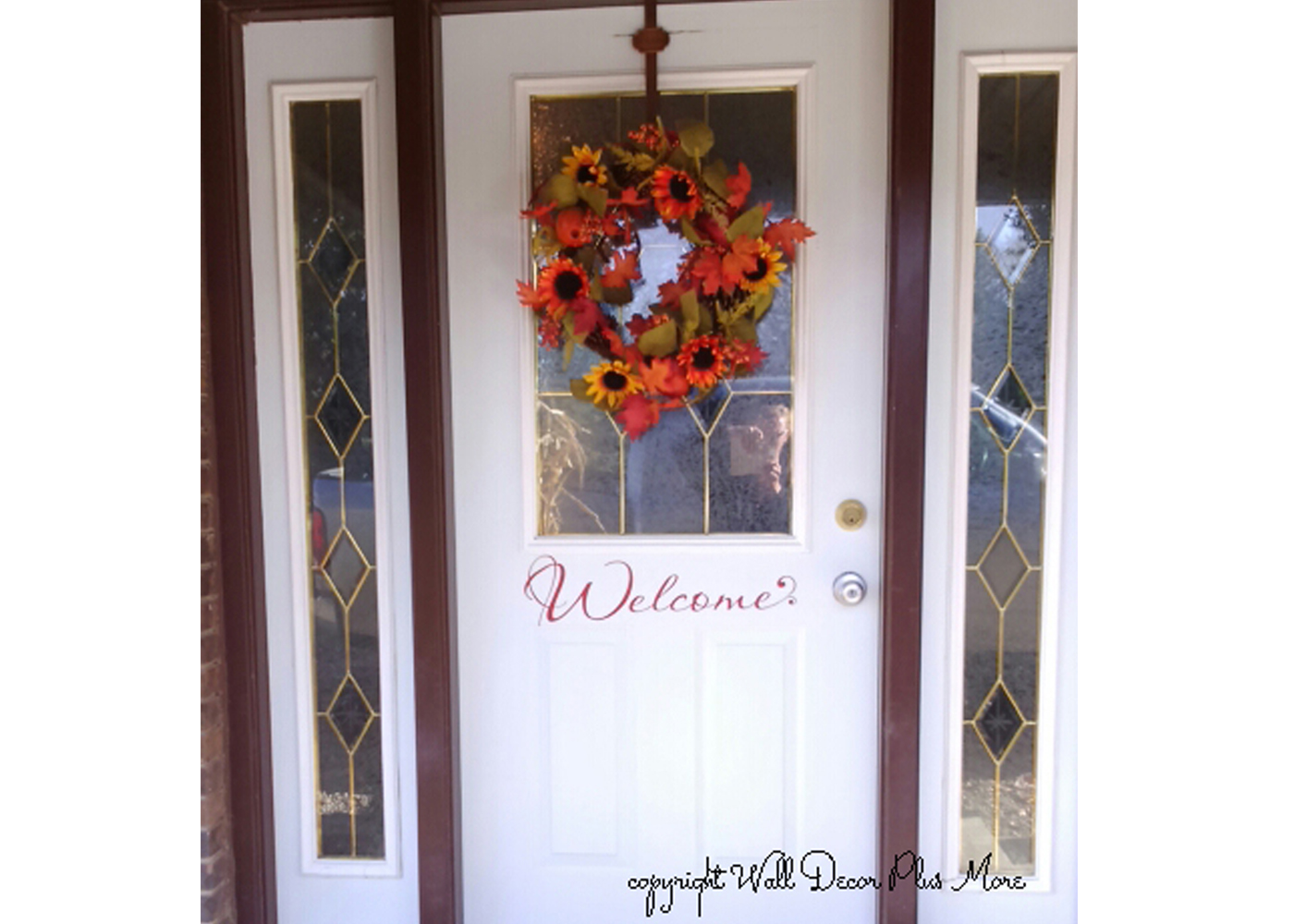 wd064-welcome-wall-decal-in-red-on-front-door.jpg