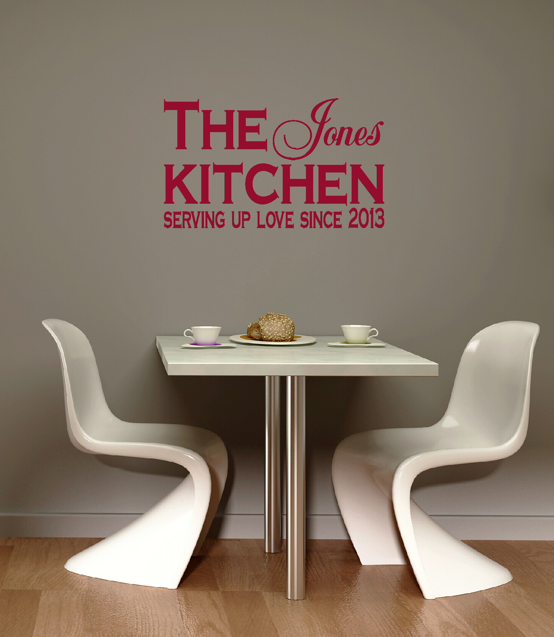 kitchen customized wall decals