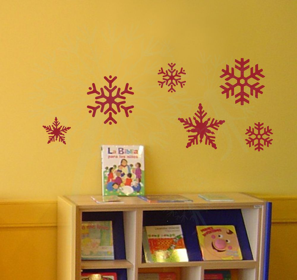 Wall Sticker Shapes for an Easy Update - Wall Decor Plus More