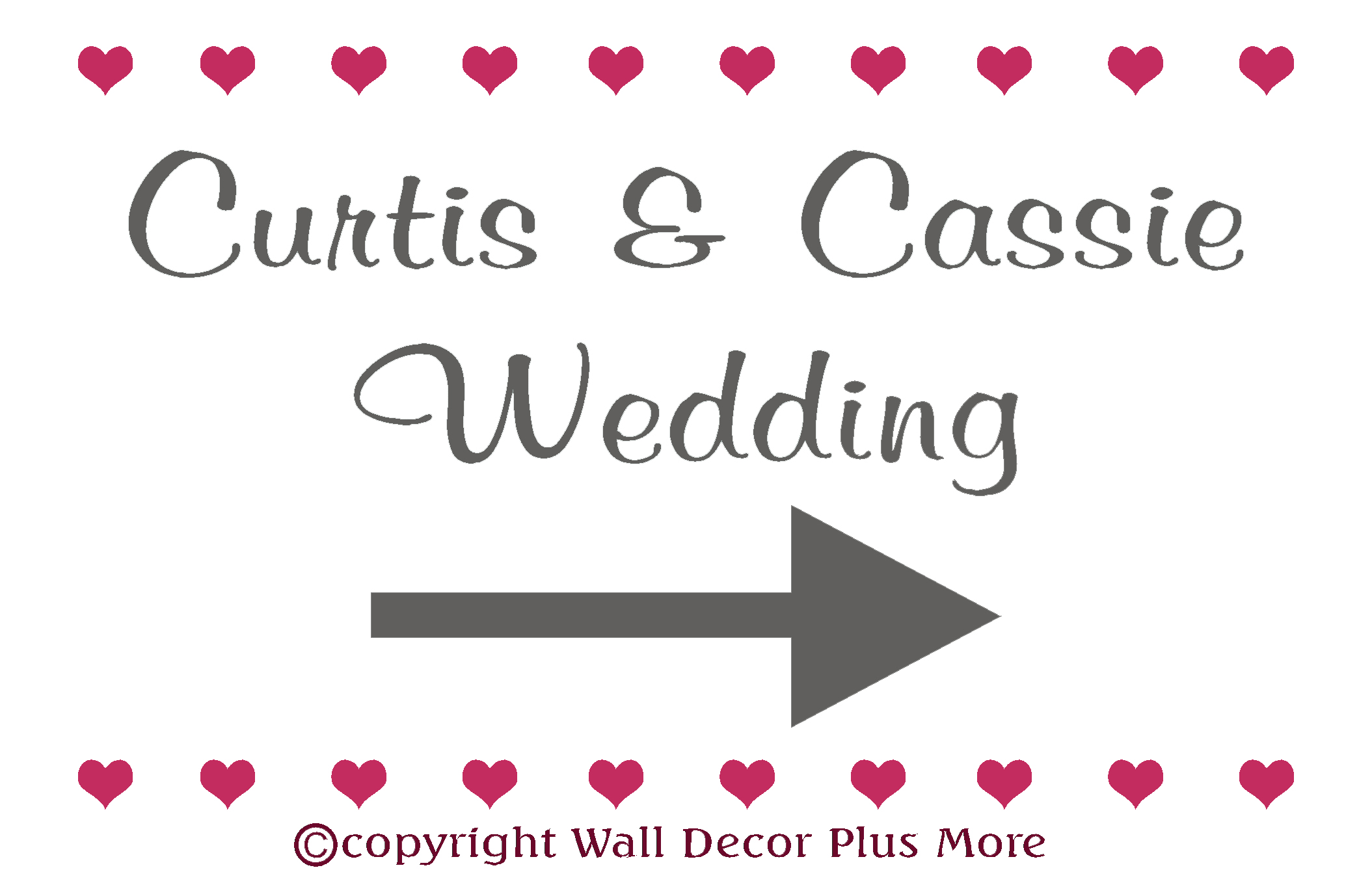 Wall Decor Plus More : Things to include in your wedding decor wall
