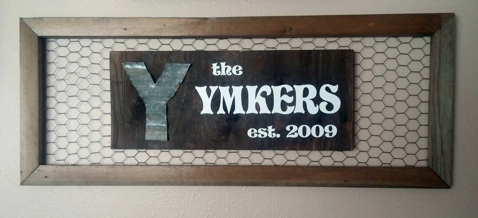 Laundry Wall Plaque Fascinating Diy Laundry Ladder And Name Plaque  Wall Decor Plus More Decorating Inspiration