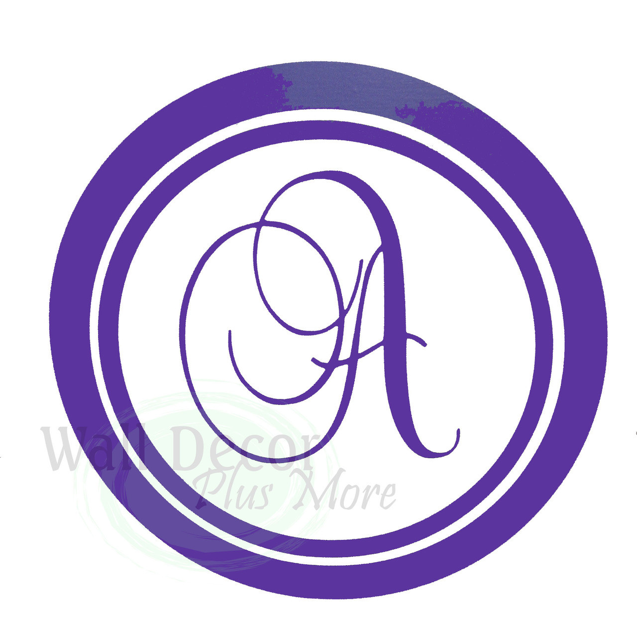 Personalized Monogram Letter Wall Stickers Vinyl Decals Custom Graphic - Custom vinyl stickers letters
