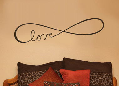 Infinity Love Wall Decals Art Vinyl Sticker For Master Bedroom Or Wedding Part 86