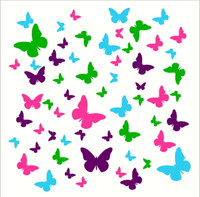 Butterfly Wall Decals for Girls Room