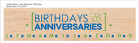 Birthdays and Anniversaries Vinyl Sticker Decal for DIY Project