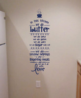 Kitchen Quotes In the Kitchen We Do Love Kitchen Wall Decals