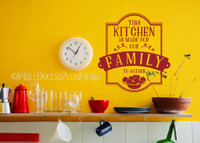 Popular Kitchen Quotes Vinyl Wall Stickers Decals Family to Gather
