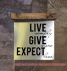 Give More Quote on Metal Wood Topper Sign for Wall Art Home Decor