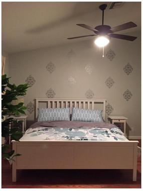 vintage florals medallion damask wall sticker decals. Black Bedroom Furniture Sets. Home Design Ideas