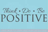Think Do Be Positive Inspiring Wall Decal Sticker