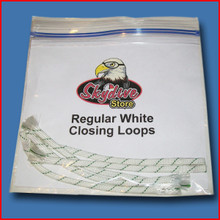 Closing Loops ( White) Five Pack