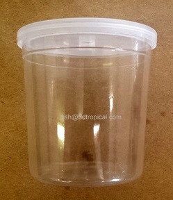 BETTA CUP W/ LID - 8OZ