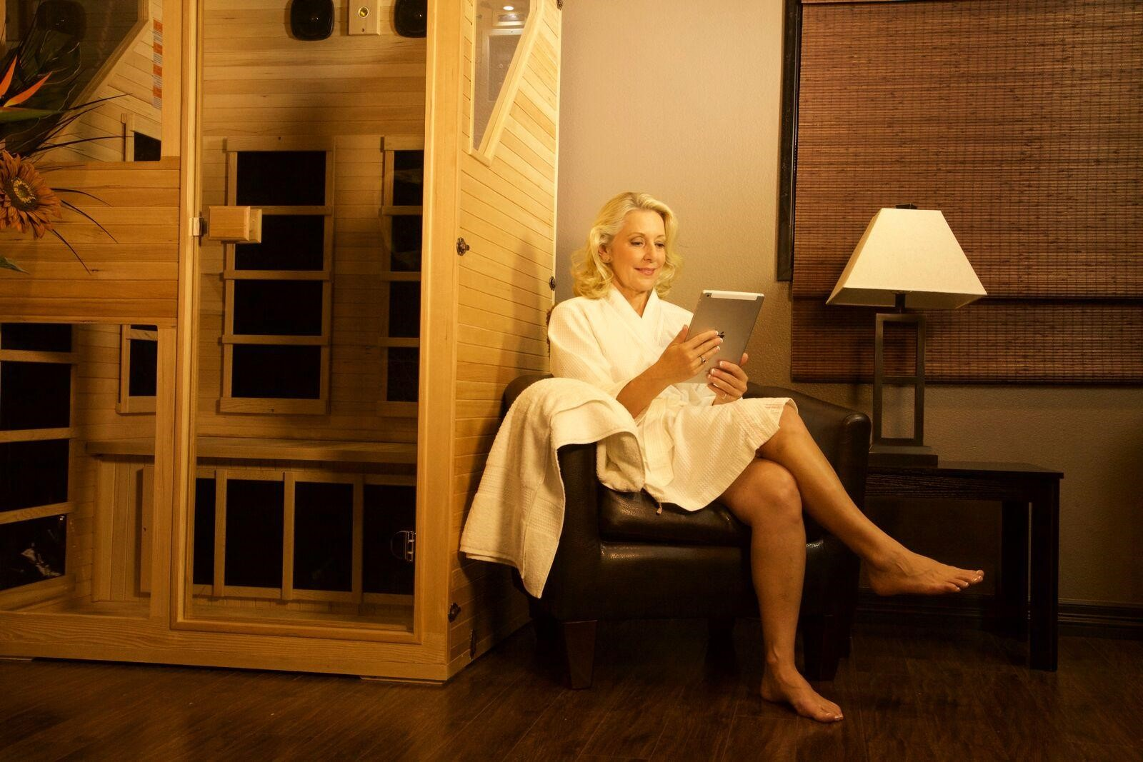Research the Health Benefits of Using a Far-Infrared Sauna