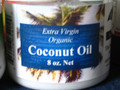 Extra Virgin Organic Coconut Oil 8oz Jar  $11.95