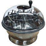 "24"" Clear Top Motorized Bowl Trimmer"