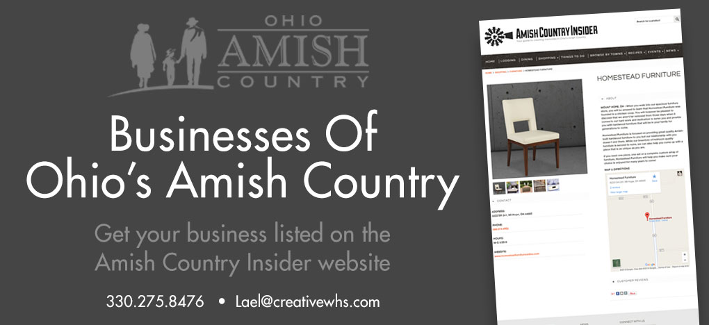 Ohio Amish Country Visitor's Guide