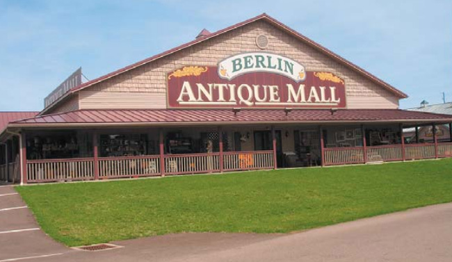 Berlin Antique And Craft Malls At Schrock S Amish Farm Village Amish Country Insider