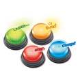 Light and Sound buzzers (set of 4) - 4 fun sounds