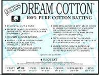 """Request Natural Dream Cotton, 46"""" wide Mini Bolt"""