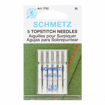 Schmetz Topstitch Needles, 12/80