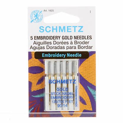 Schmetz Embroidery Needle 14/90