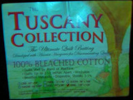 Tuscany Bleached Cotton, Crib