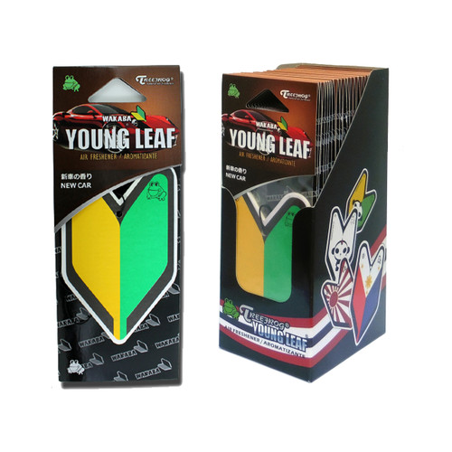 Treefrog Young Leaf New Car Scent - YirehStore.com