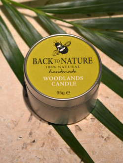 Woodlands candle
