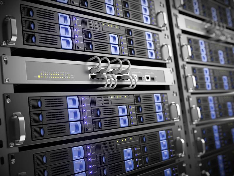 used rack server