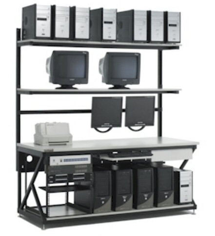 Computer Work Benches And Lan Stations By Kendall Howard Server Racks Rackmount Accessories